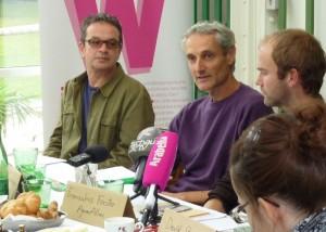 Recht auf Marmelade – Pressekonferenz